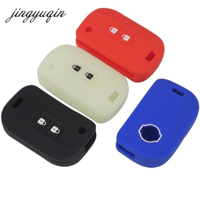 jingyuqin silicone flip key case for nissan qashqai primera micrajingyuqin silicone flip key case for nissan qashqai primera micra navara almera note sunny modified foling car key cover review