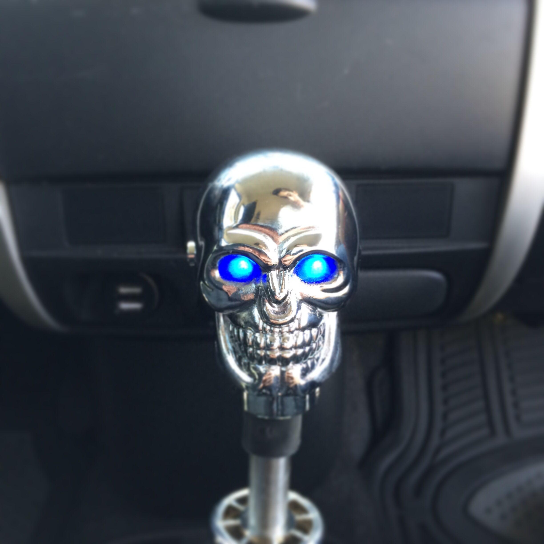 Momo LED Skull Shift Knob Knob Shifters Pinterest Cars