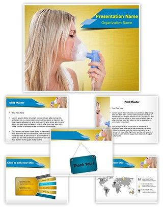 Asthma Attack PowerPoint Presentation Template Is One Of The Best - Asthma brochure template