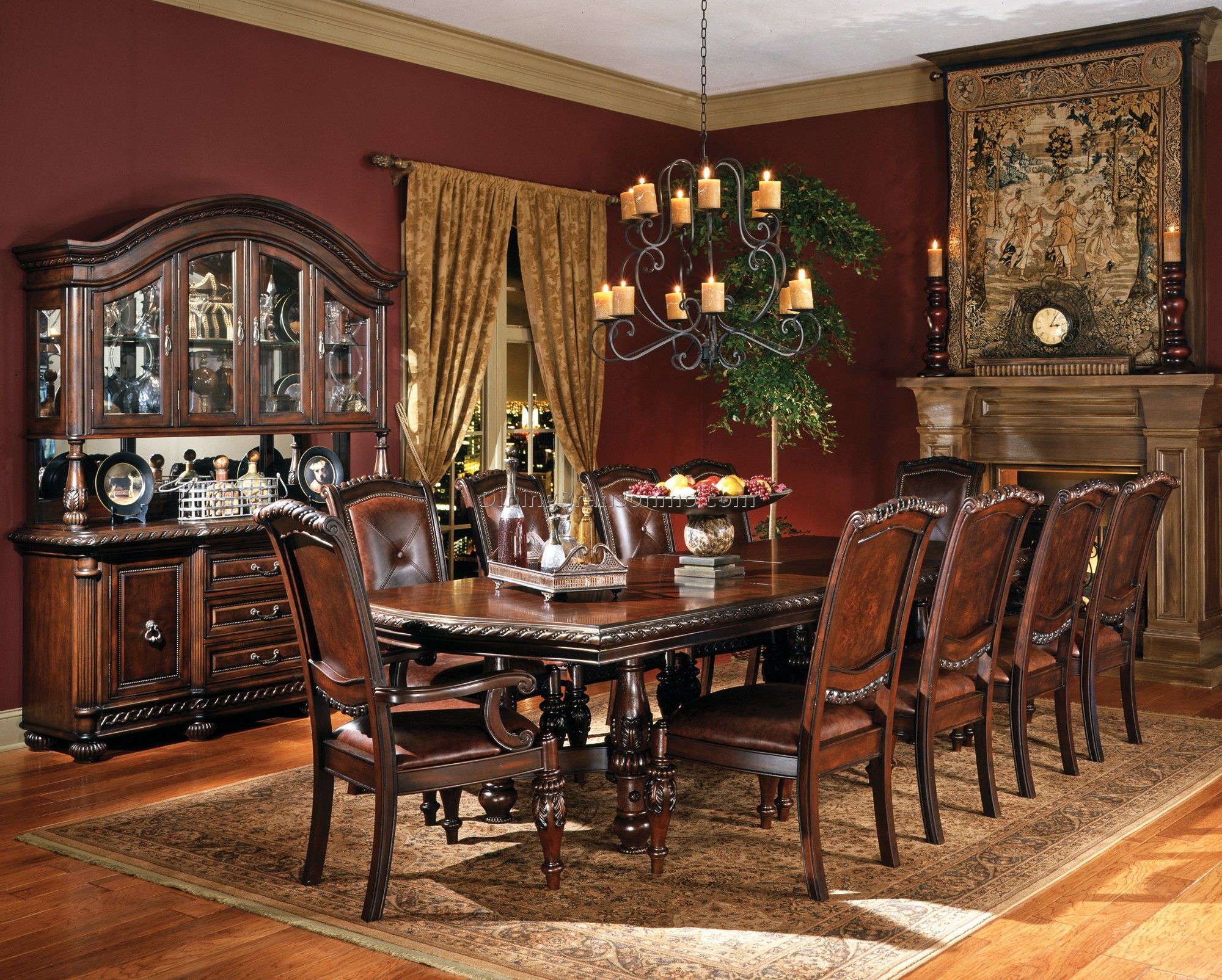 Shop For Steve Silver Antoinette Double Pedestal Table And Other Dining Room Tables At Direct Furniture Galleries In Fairfax VA