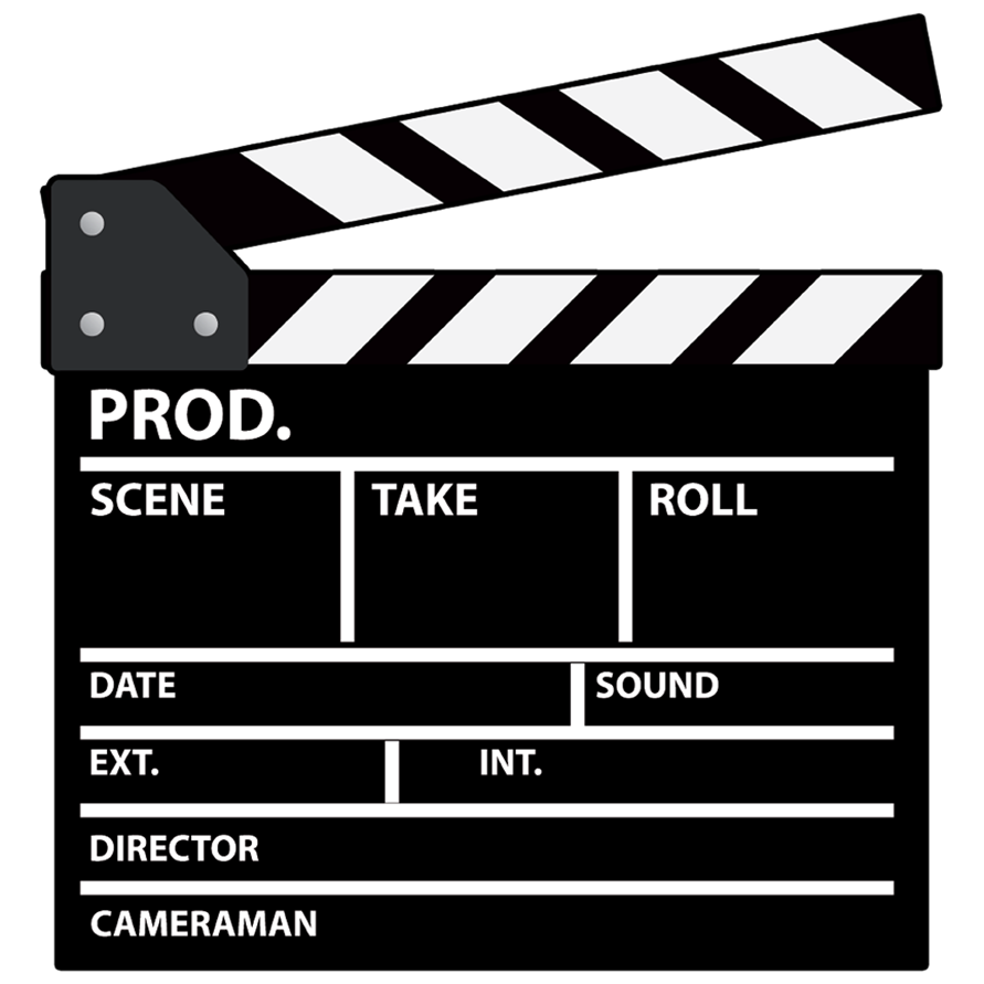 Director Clapboard Clapboard Director T Shirts With Sayings