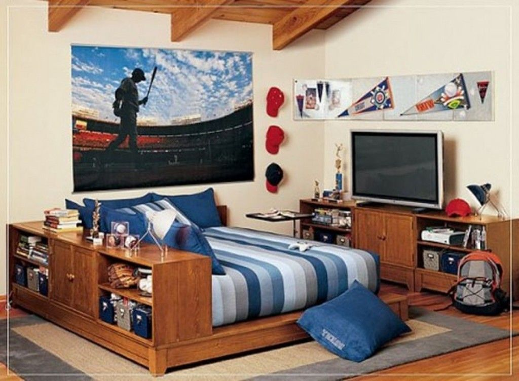 pretty fresh deluxe kids bedroom design | Kids Room: Awesome Loft Boys Bedroom Design With Cool ...