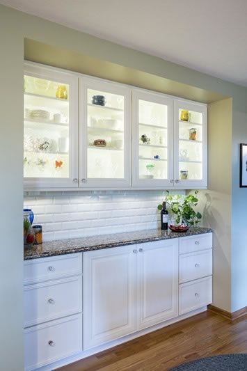 Shallow base cabinets AIM Kitchen & Bath   Kitchen Gallery ...
