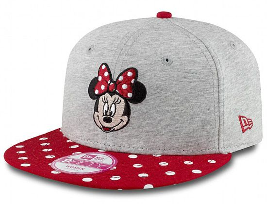 huge selection of a2b47 16a23 Polka Minnie Mouse 9Fifty Snapback Cap by DISNEY x NEW ERA