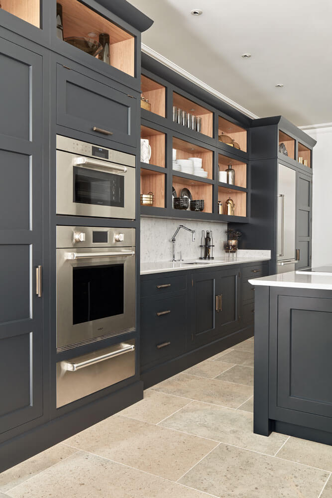 Dark Grey Shaker Style Kitchen | Tom Howley