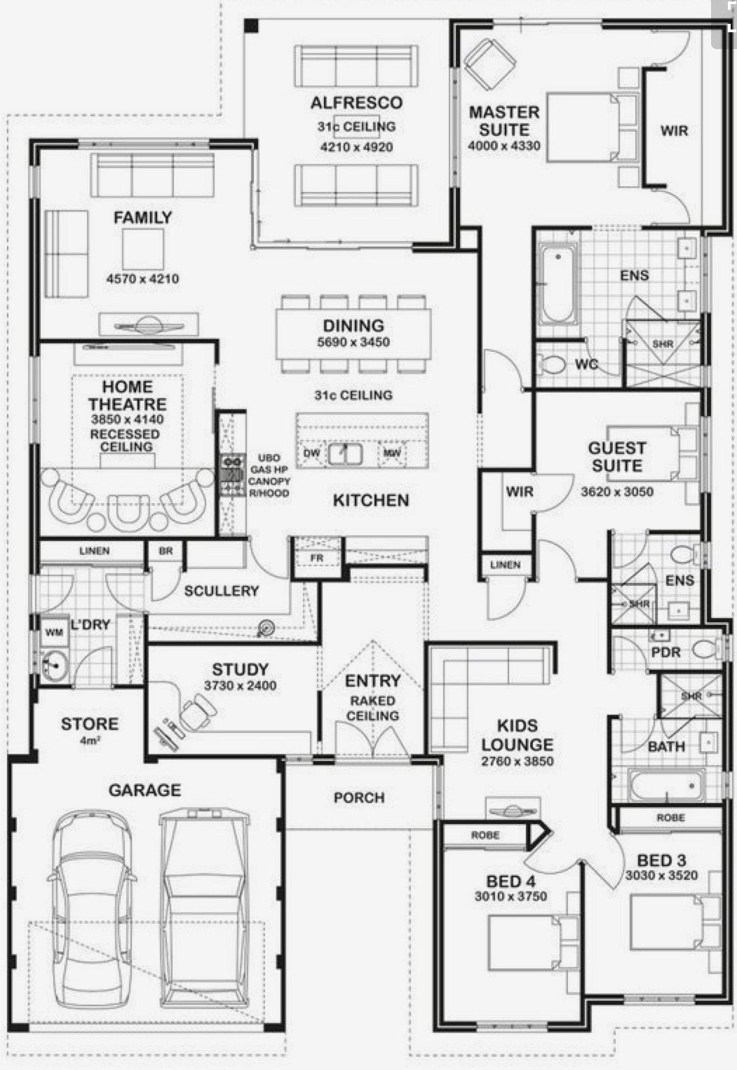 Httpssmediacacheak0Pinimgoriginals2E New Kitchen Floor Plan Designs Design Ideas