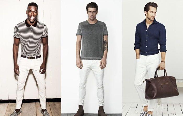 3 formas imbatibles de combinar el pantalón blanco