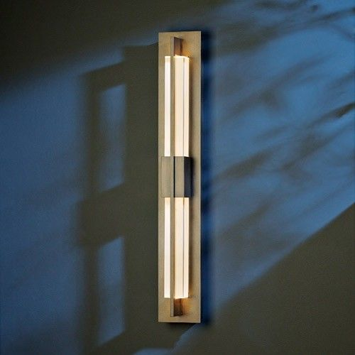Double Axis Medium Led Outdoor Wall Sconce 31 H In Burniahed Steel Led Outdoor Lighting