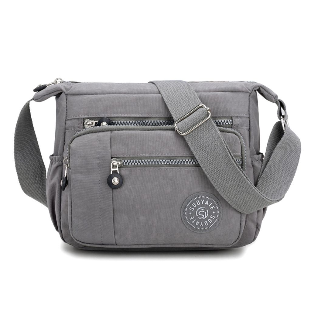Women Fashion Shoulder Bags Waterproof Totes Messenger Bag Nylon Travel Handbags