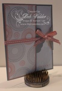 Scalloped Tag Topper Punch PART 1 with Deb Valder