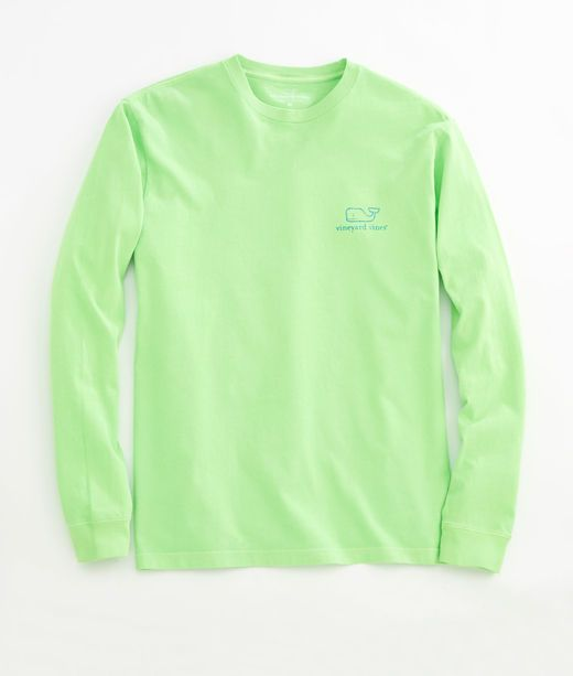 Neon Vintage Whale Graphic T-Shirt