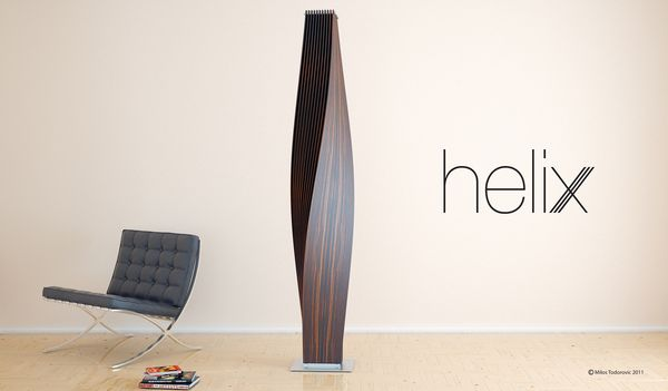 The Helix magazine rack