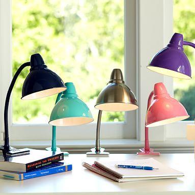 Shine-On Clip Light for the Loft bed, side light. | Liv's Room Re ...