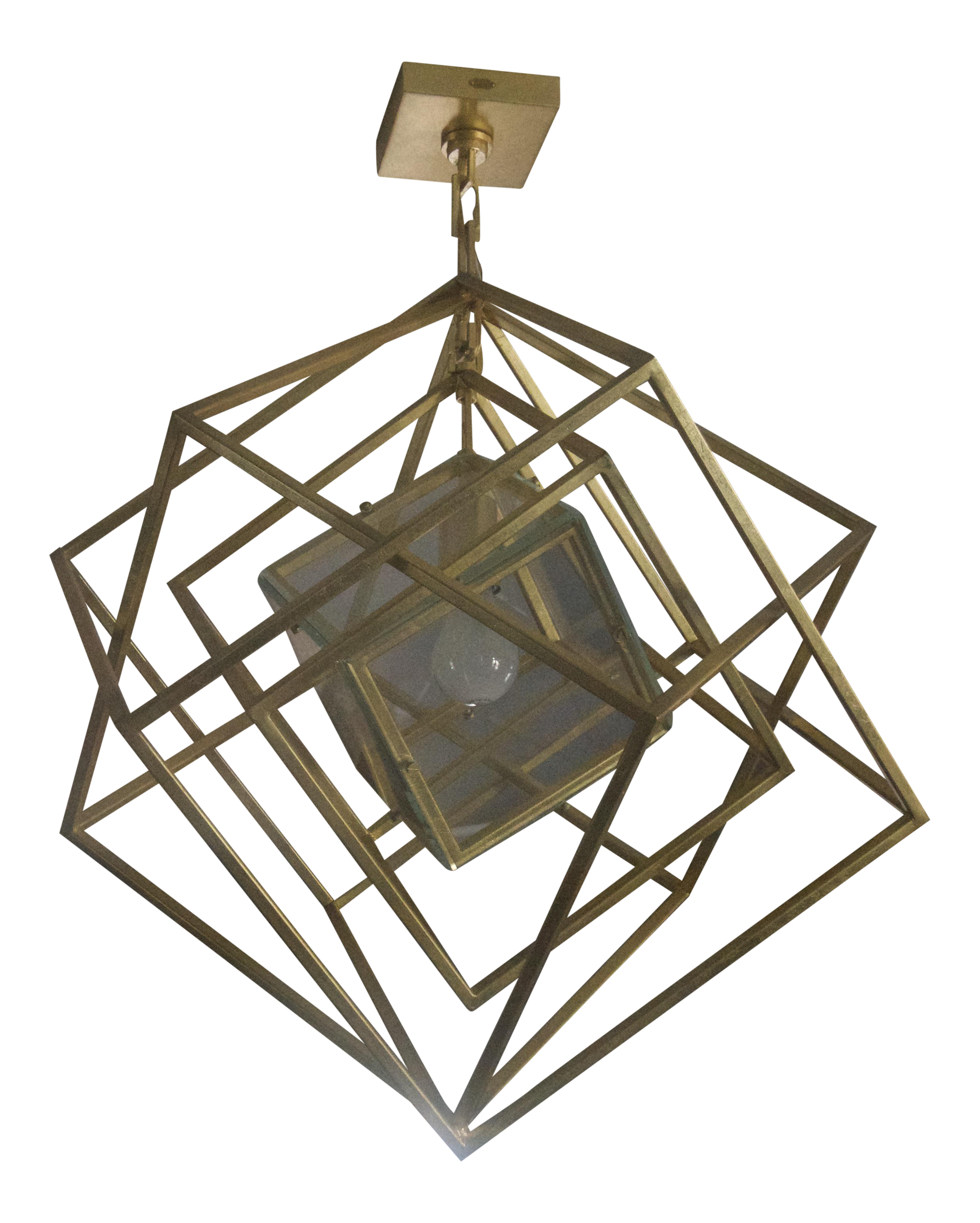 From The Personal Collection Of Shay Mitchell This Multi Cube Within Cube Pendant Light Is Mesme Pendant Light Shop Pendant Lights Contemporary Light Fixtures