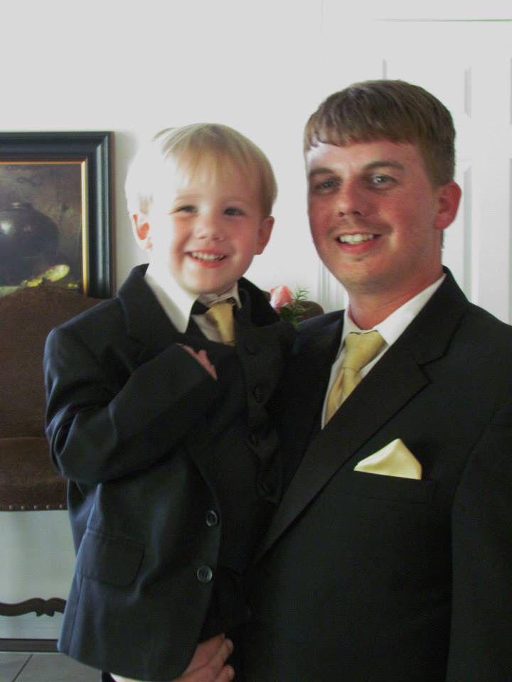 Ring bearer/groom