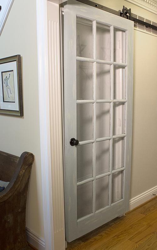 Sliding Gl Panel Barn Door Make A Statement With Decoartprojects