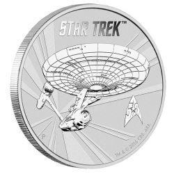 Star Trek 2016 1oz Silver Bullion Coin in Card