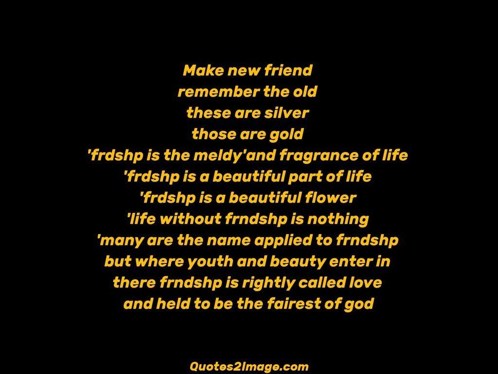 Medium Crop Of New Friendship Quotes