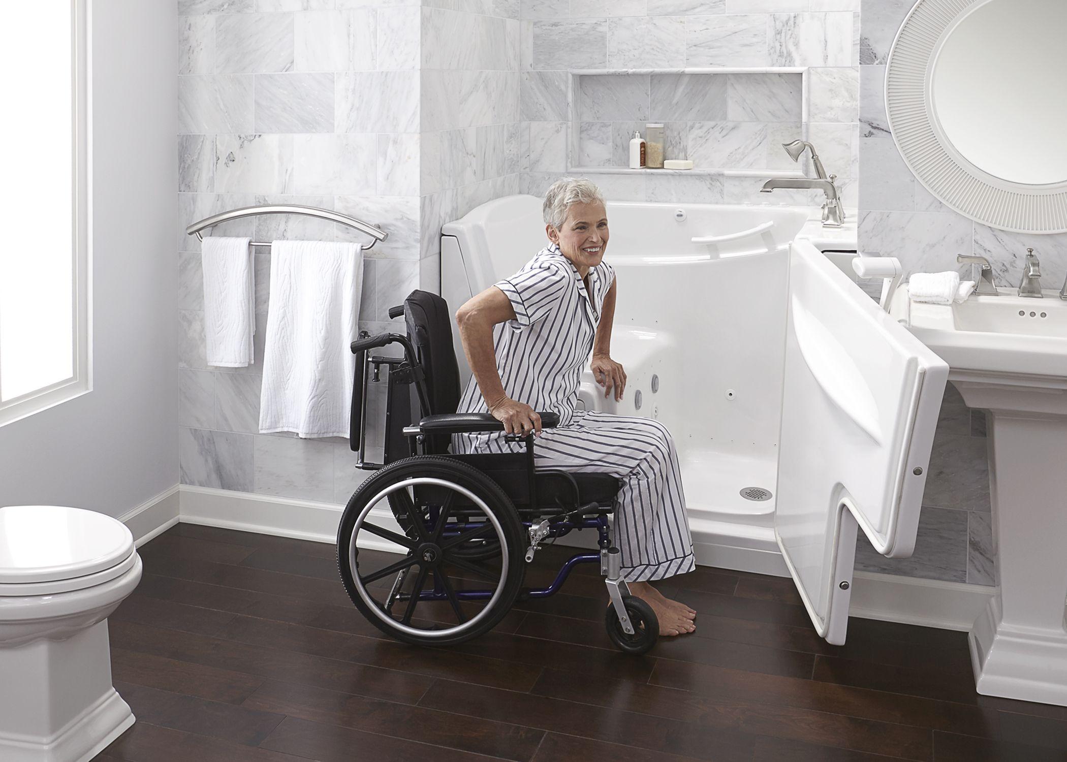 Proper Bathroom Safety in a Wheelchair Casas, Living