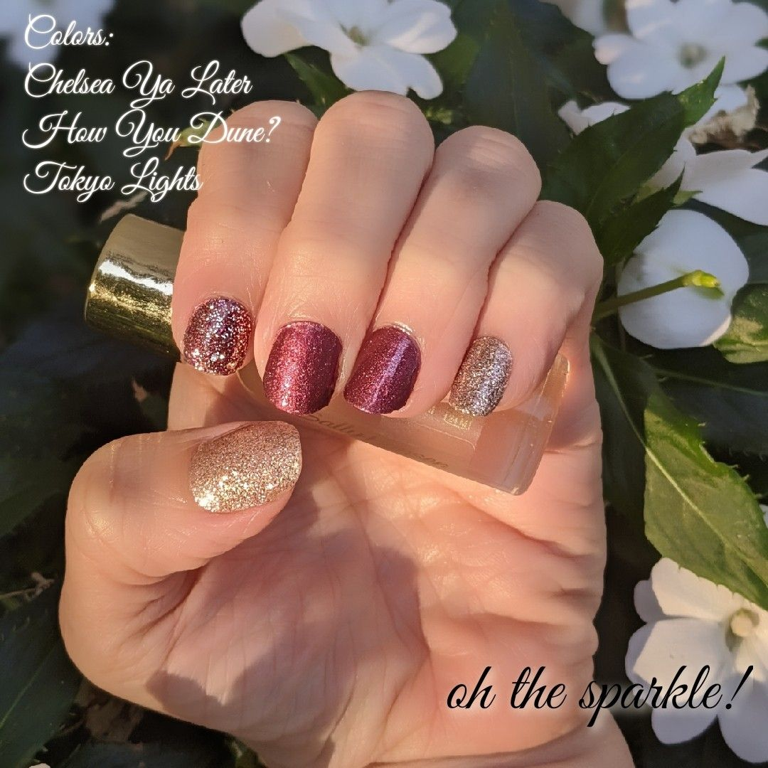 Color Street Mixed Mani In 2020 Color Street Nails Nail Color Combos Fall Manicure
