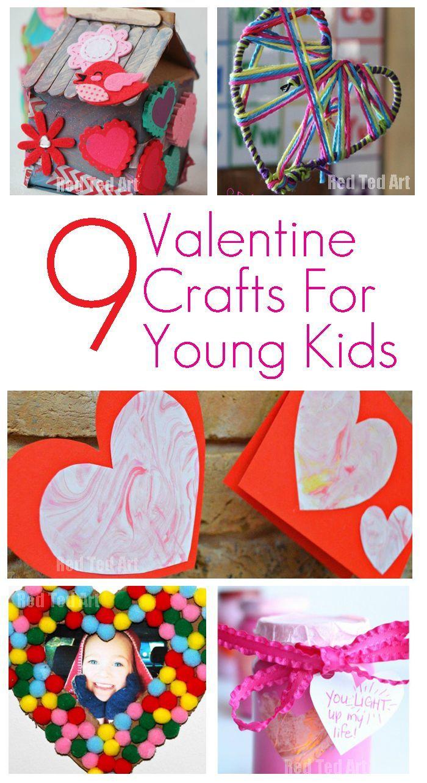9 Valentine Crafts For Young Children Valentine S Day For Kids