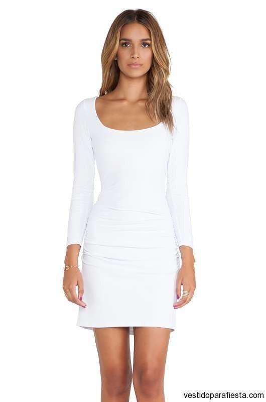Vestidos de color blanco para fiesta