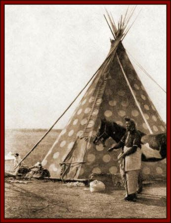 American History Blackfoot Tribe Location