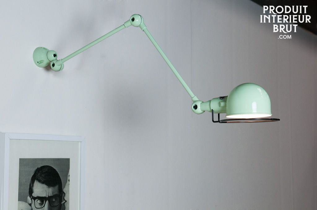 Badezimmer Wandleuchten ~ Jieldé signal wandleuchte aquamarin beleuchtung und badezimmer
