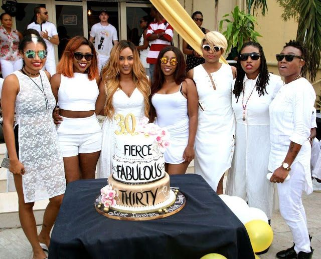 Juliet Ibrahim Th Birthday Celebration Photos Celebrities Nigeria