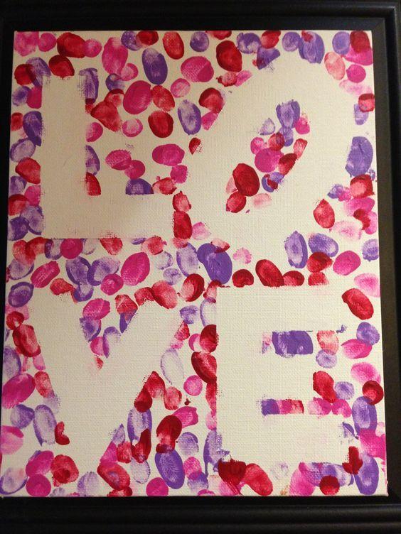 Hostingecologico Fingerprint Art Mothers Day Crafts For Kids
