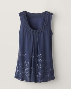 Embellished chiffon shell  $59.95 - $69.95  Top Rated