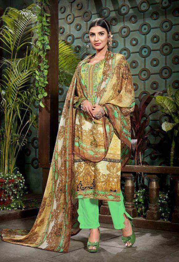 Mumtaz Arts Rango Ki Duniya Gulmohar Suit (10 pc catalog