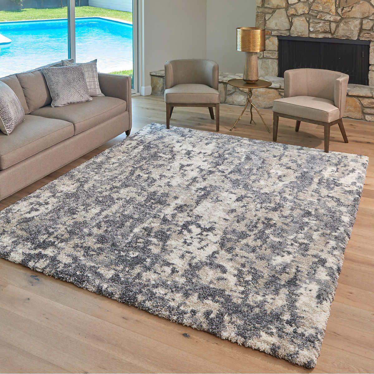 Lenox Super Lush Shag Area Rug Bryce Gray In 2020 Shag Area Rug Rugs In Living Room Area Rugs