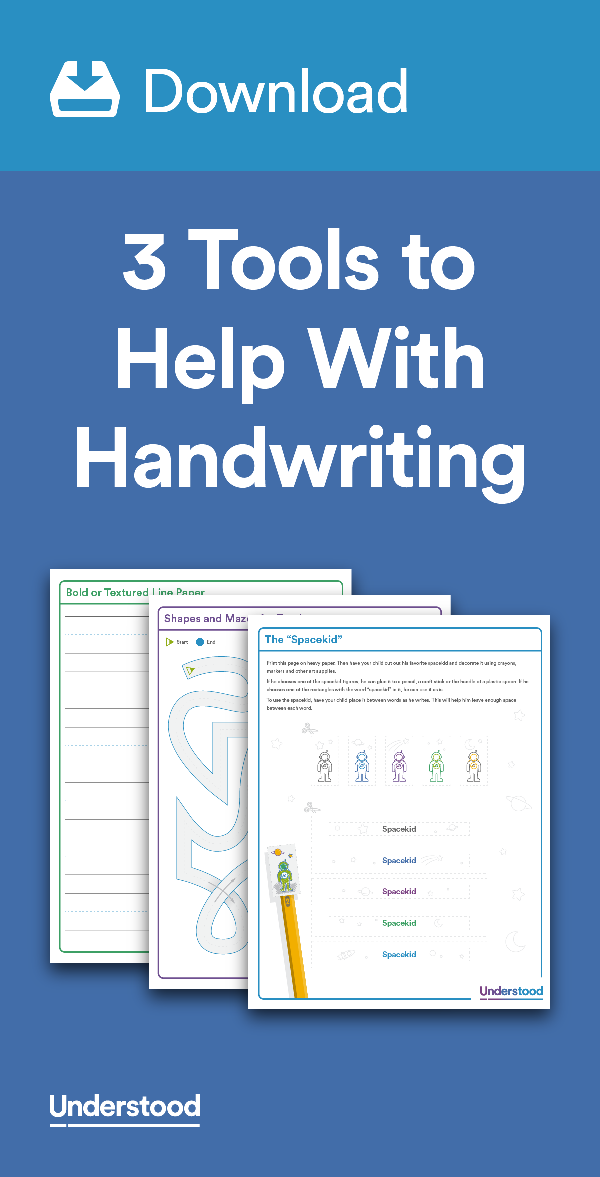 Download Tools To Help With Handwriting