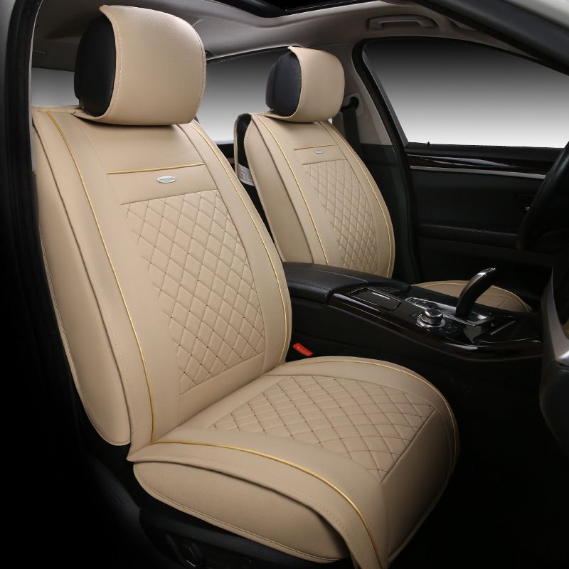 High Quality Leather Universal Car Seat Cover For Volvo S60l V40 V60 S60 Xc60 Xc90 Xc60 C70 S80 S4 Leather Car Seat Covers Interior Accessories Car Accessories