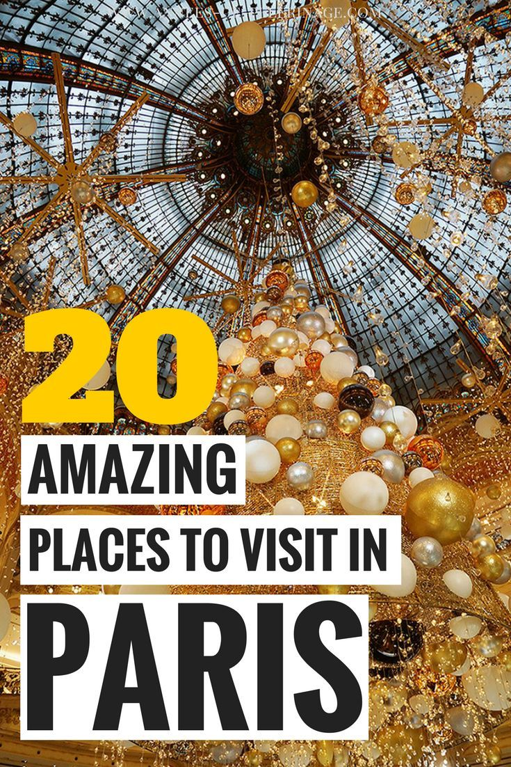 A massive list of the 20 best things to do in Paris, France. Find out about the top landmarks and best tourist attractions in France's capital. This Paris travel guide will give you all the details: When to visit, what to see and where to stay in Paris. Click for more. #paris #france #europe #travel #bucketlist #travelguide #travelblog #photography #wanderlust #explore