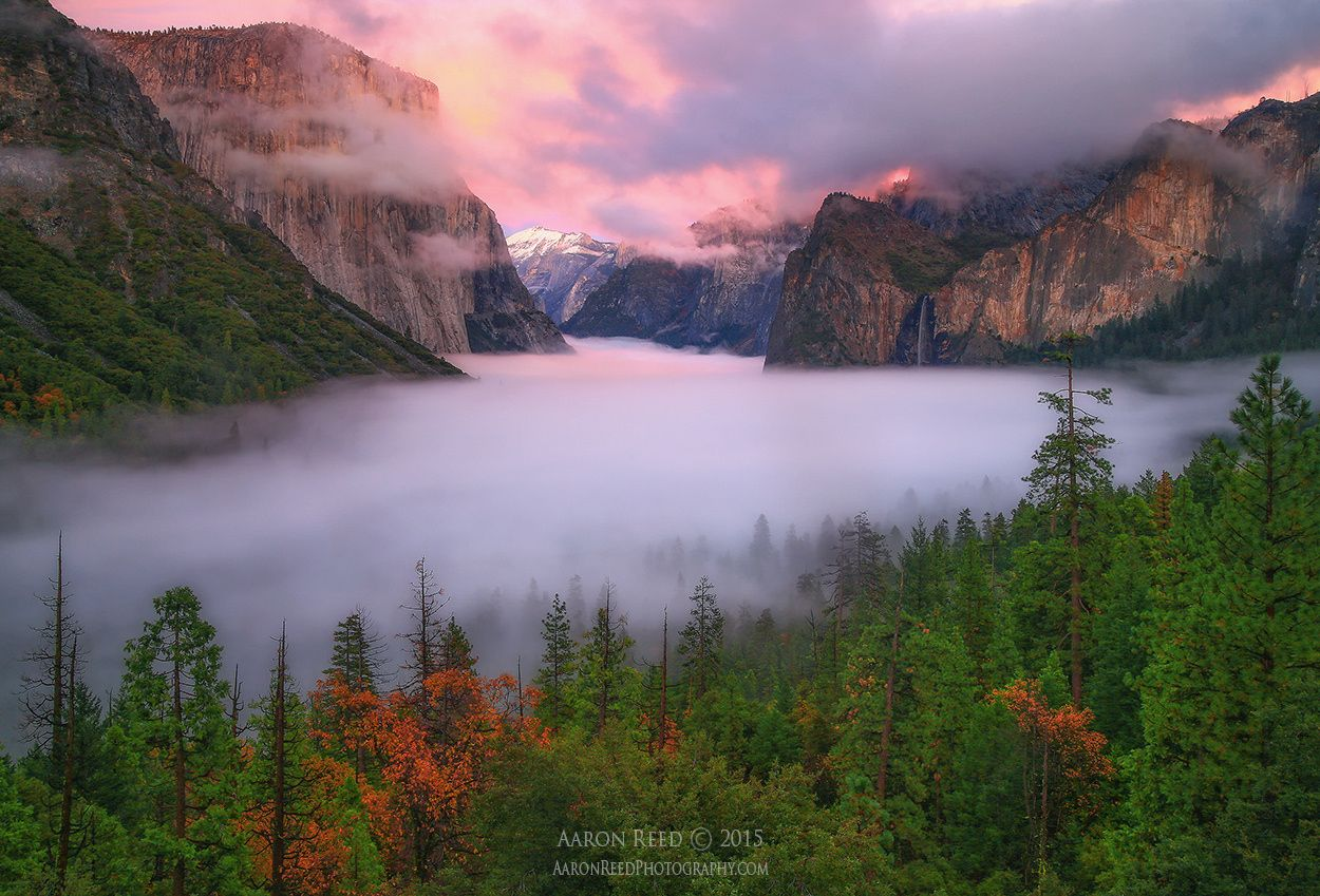 Stairway To Heaven - Yosemite National Park by Aaron Reed on 500px