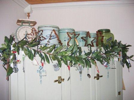 Hoosier Garland Utensil Ornaments
