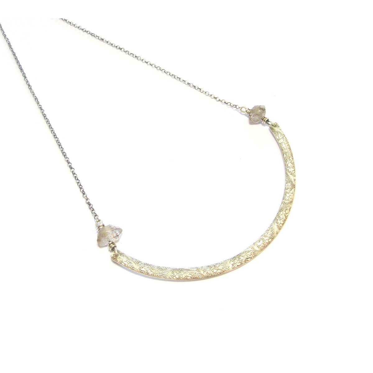collier argent homme maty