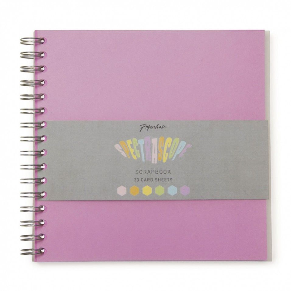 Spectrascope pastel square scrapbook - NEW - Stationery - New for Summer