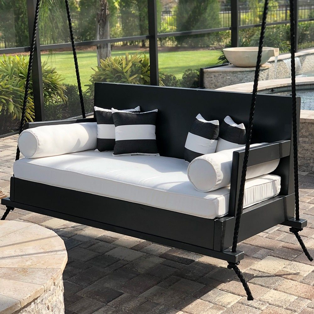 Breezy Acres The Burg Daybed Swing Daybed Swing Porch Swing Bed