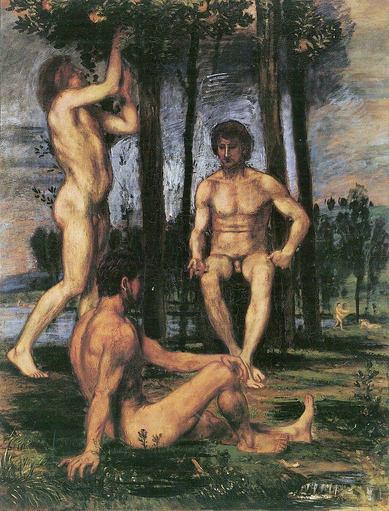Resultado de imagen de pinturas pompeya gay