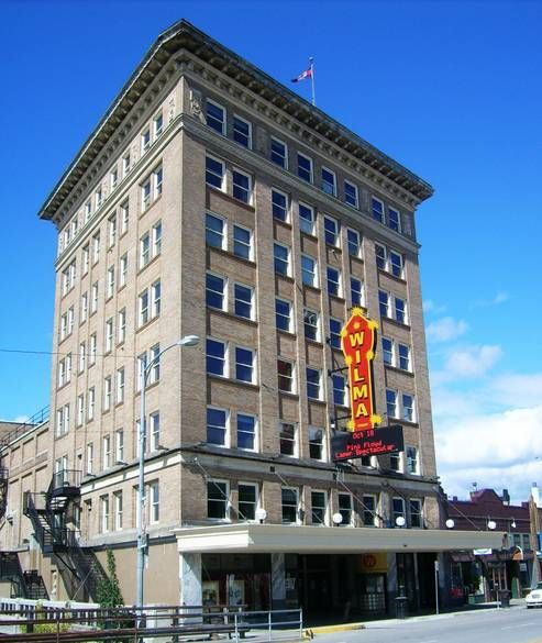 Places To Visit In Montana Usa: The Wilma Theater In Downtown Missoula