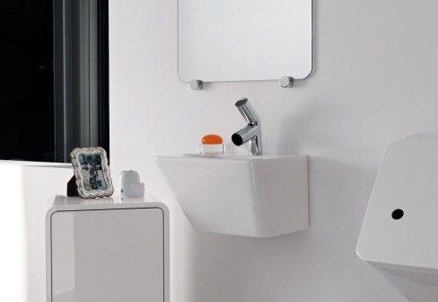 Alessi Bagno ~ Laufen: il bagno alessi dot small washbasin with integrated siphon