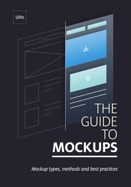 Guide To Mockups By Uxpin Web Design Free Web Design Interactive Design
