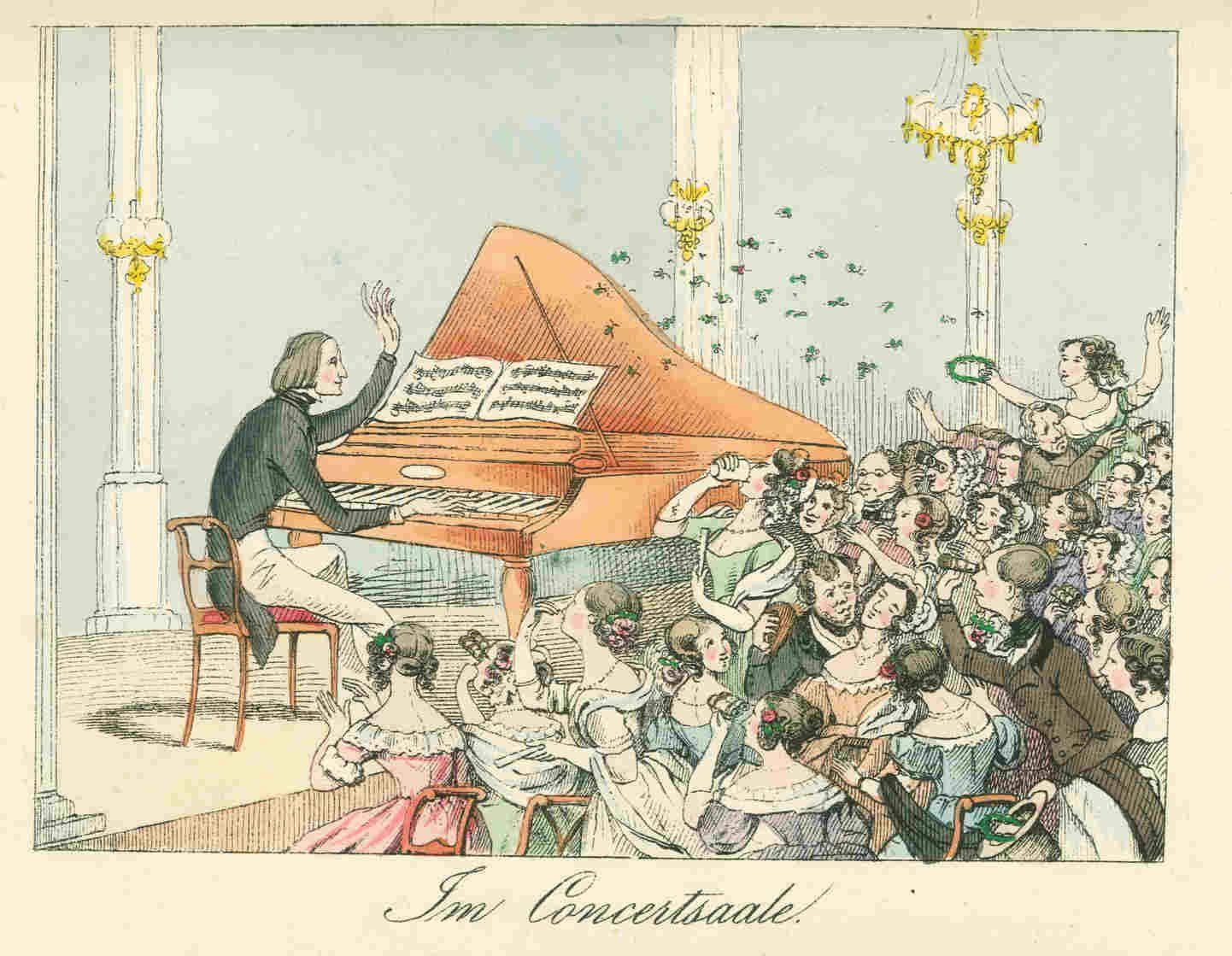 """Un 22 de octubre de hace 202 años, en 1811, nació en Raiding (Hungría), el compositor, director y pianista Franz Liszt, una de las personalidades más importantes de su tiempo y precursor del recital para piano. Se convertirá en un fenomeno social comparable a las estrellas del pop y rock actuales, hasta el punto de que su retrato aparecía en camafeos y broches, y sus """"grouppies"""" trataban de hacerse con las tazas donde había bebido o las patas de los pianos que había tocado en algún recital."""