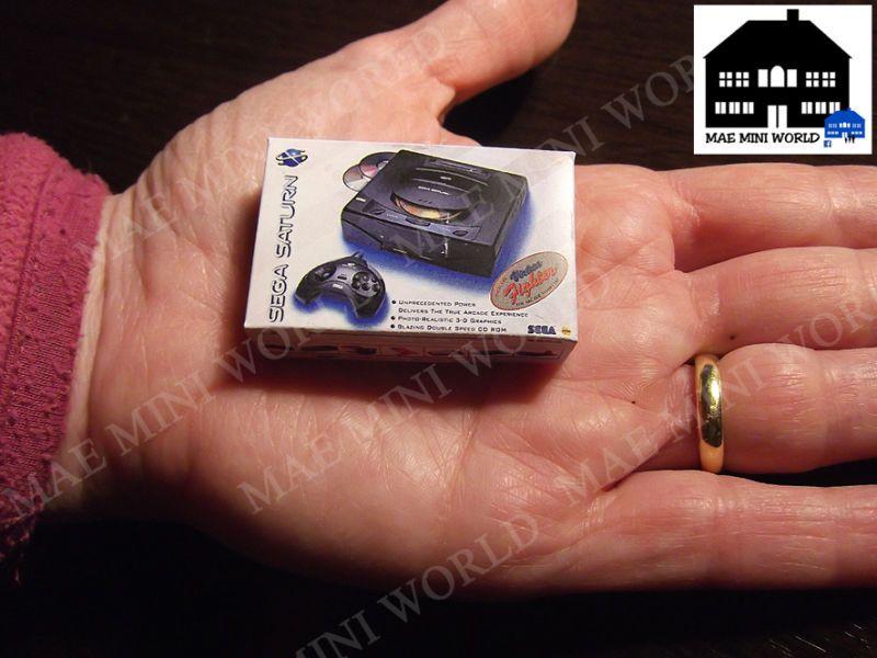 Sega Saturn Box MAE mini world 1:12
