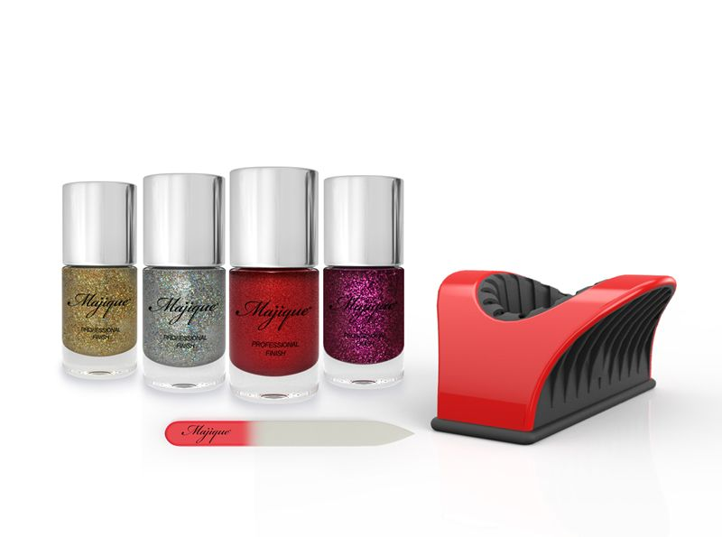 Contents Red Nail Buddy Crystal File Golden Shine Polish Lawless