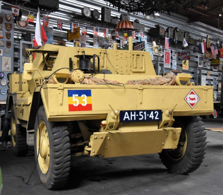 1942 Daimler Dingo F45837 BAIV B.V. in 2020 Armored