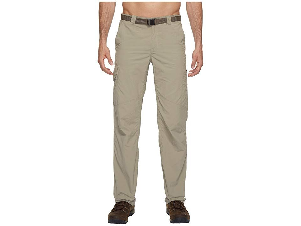 Columbia Silver Ridgetm Cargo Pant Tusk Mens Clothing See what waits around the next bend in the Silver Ridge Cargo Pant Regular Fit is an easy lightly relaxed fit for co...
